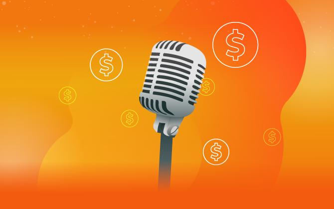 como monetizar um podcast